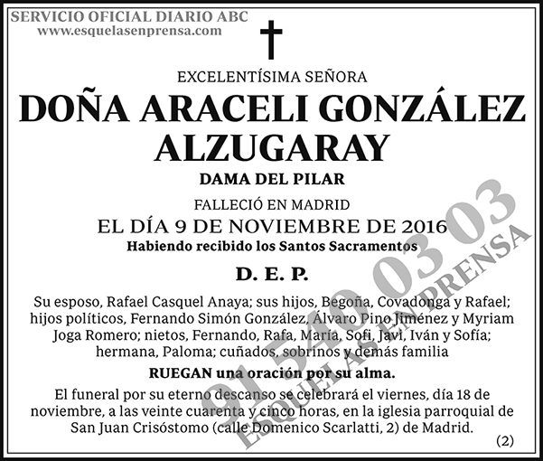 Araceli González Alzugaray
